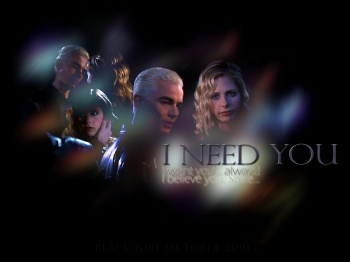 Фан-арт «I need you» PG