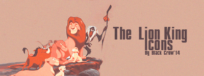 The Lion King icons