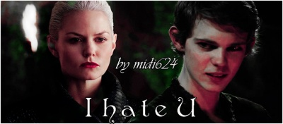Emma Swan + Peter Pan | I hate U